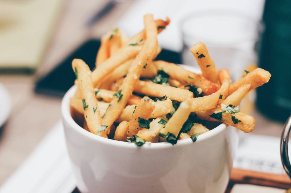 Easy Crispy Fries