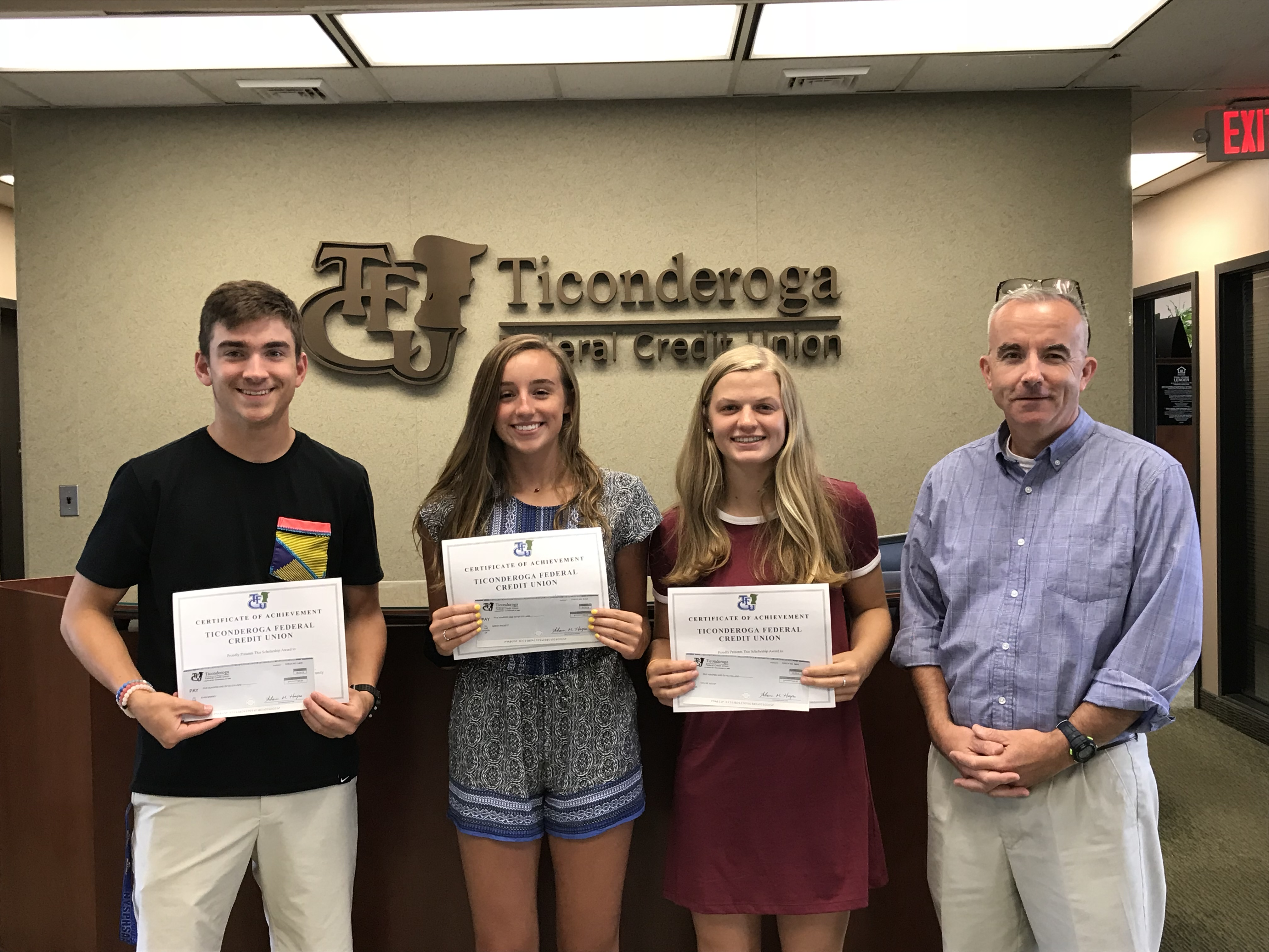 This year our credit union will award ten $4,000 scholarships and five $2,000 scholarships, which are $1,000 per year. Trailnorth Federal Credit Union Trailnorth Federal Credit Union Awards Scholarships To Members