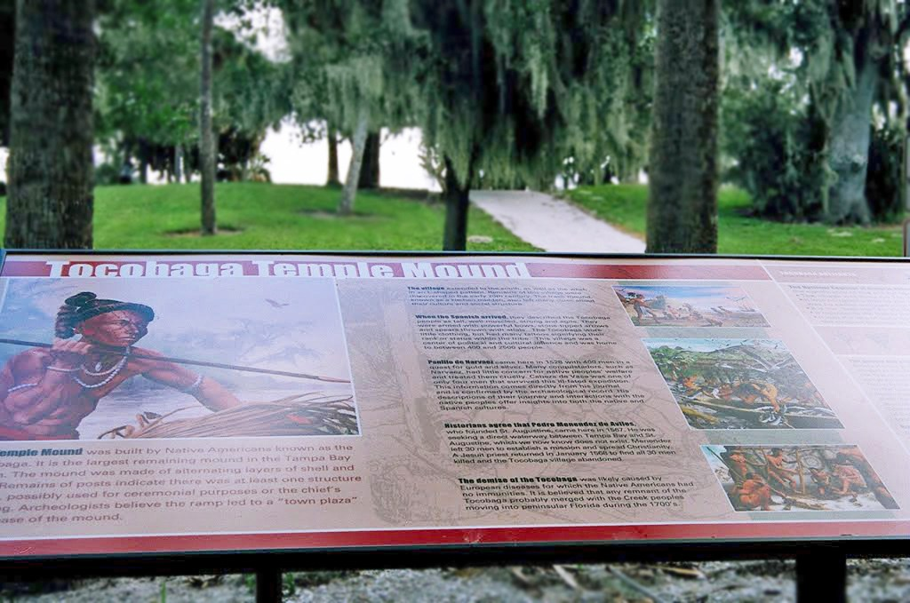 Safety Harbor Mound At Philippe Park Trail Of Florida S Indian Heritage