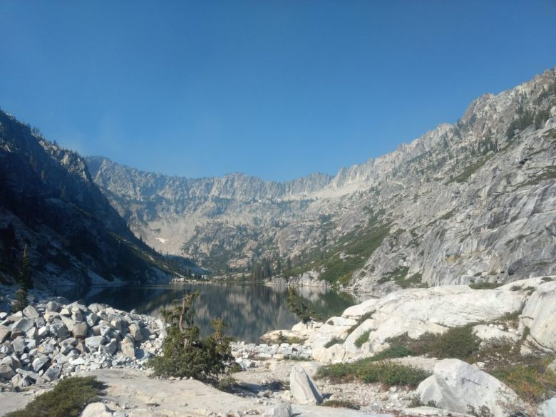 Sapphire Lake in the Trinity Alps