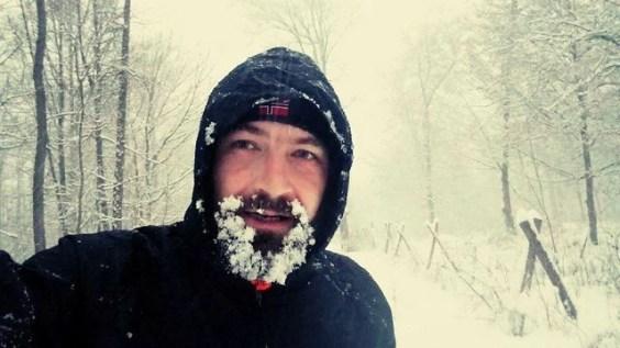 Maik im Schnee
