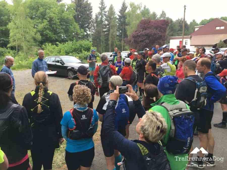 Westerwaldlauf 2018 50 Kilometerlauf Startaufstellung
