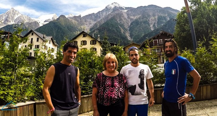Entrevista Leo, Mari y Nestor Pereyra en UTMB 2015