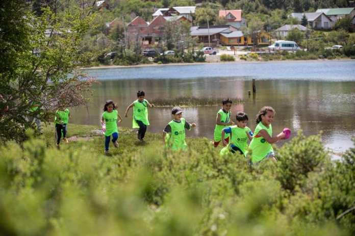 Estimulación temprana para niños en trail running