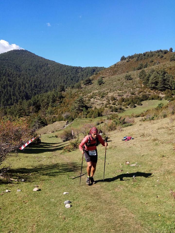 Subiendo Ultra Pirineu 2018