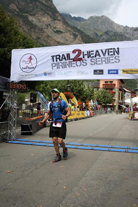 En meta del Trail 2 Heaven