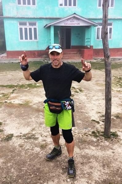 Manuel Ruiz en el Gran Sendero Himalaya