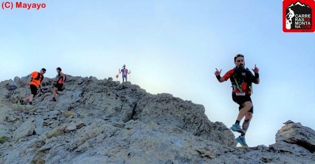 Descenso Pico La Moleta (Fuente: carrerasdemontana.com)
