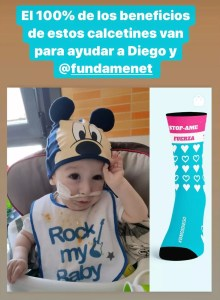 Camisetas solidarias Diego STOP-AME