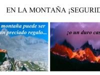 El decálogo de la seguridad en montaña