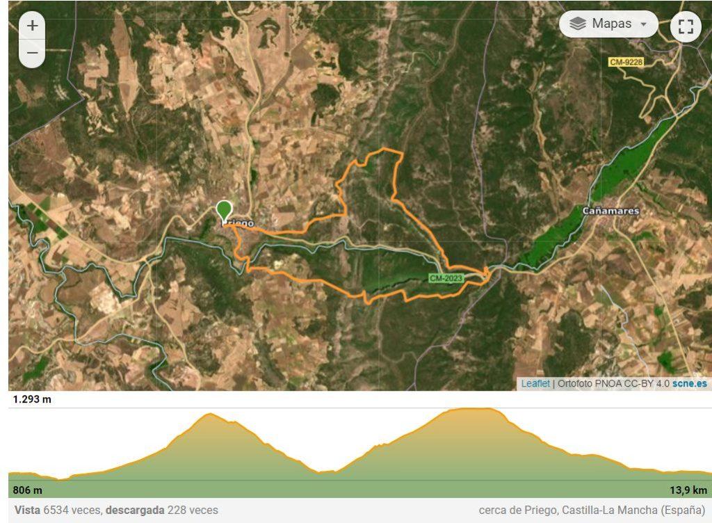 VIII Subida al Cerro de la Degollá (27-28/11/2021)