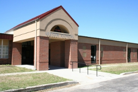 exterior view of leeton school
