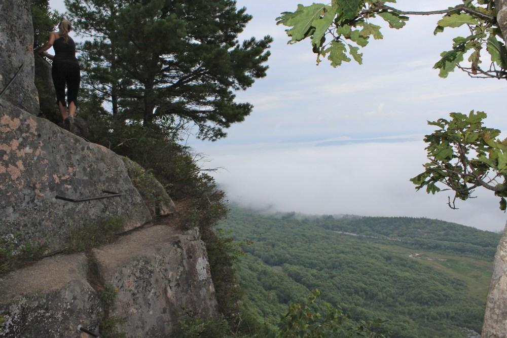 precipice trail acadia