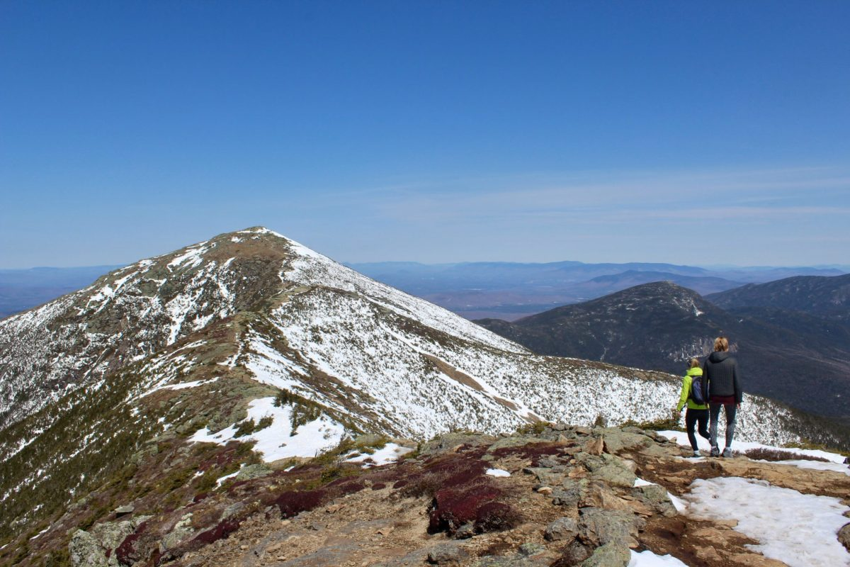 Early Spring on Franconia Ridge
