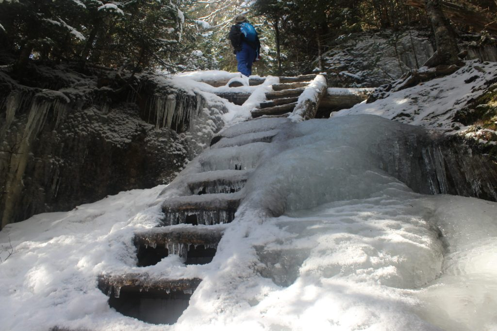 mt. willey winter hike