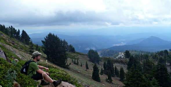 Camping and Hiking in Lassen Volcanic National Park