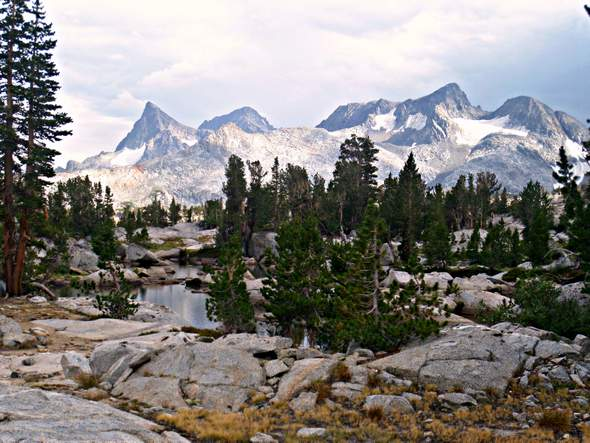 15 day Southbound JMT itinerary