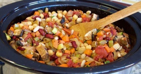 Three Bean Chili and Quinoa Recipe