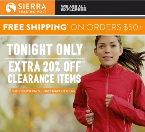 hiking gear discount
