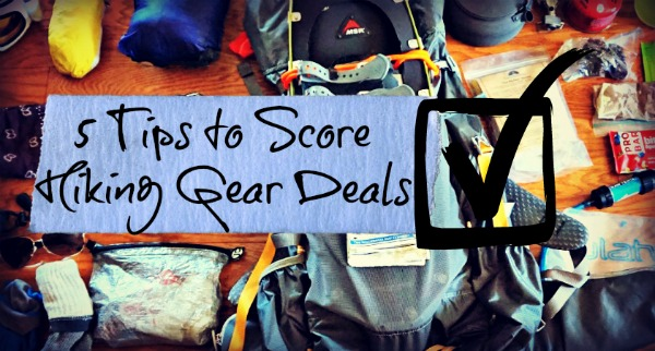 hiking gear deals