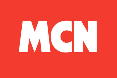 Motorcycle News Press Peview. MCN logo