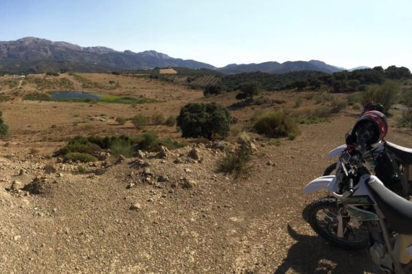 Dirt bike holidays in Spain. Adventure trail riding tours in Spain