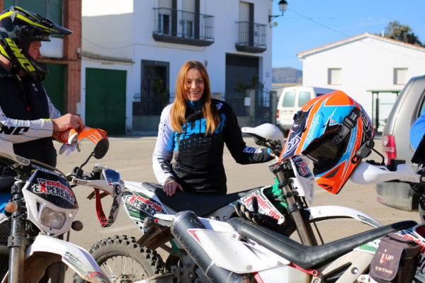 Off-road motorcycle tours for women