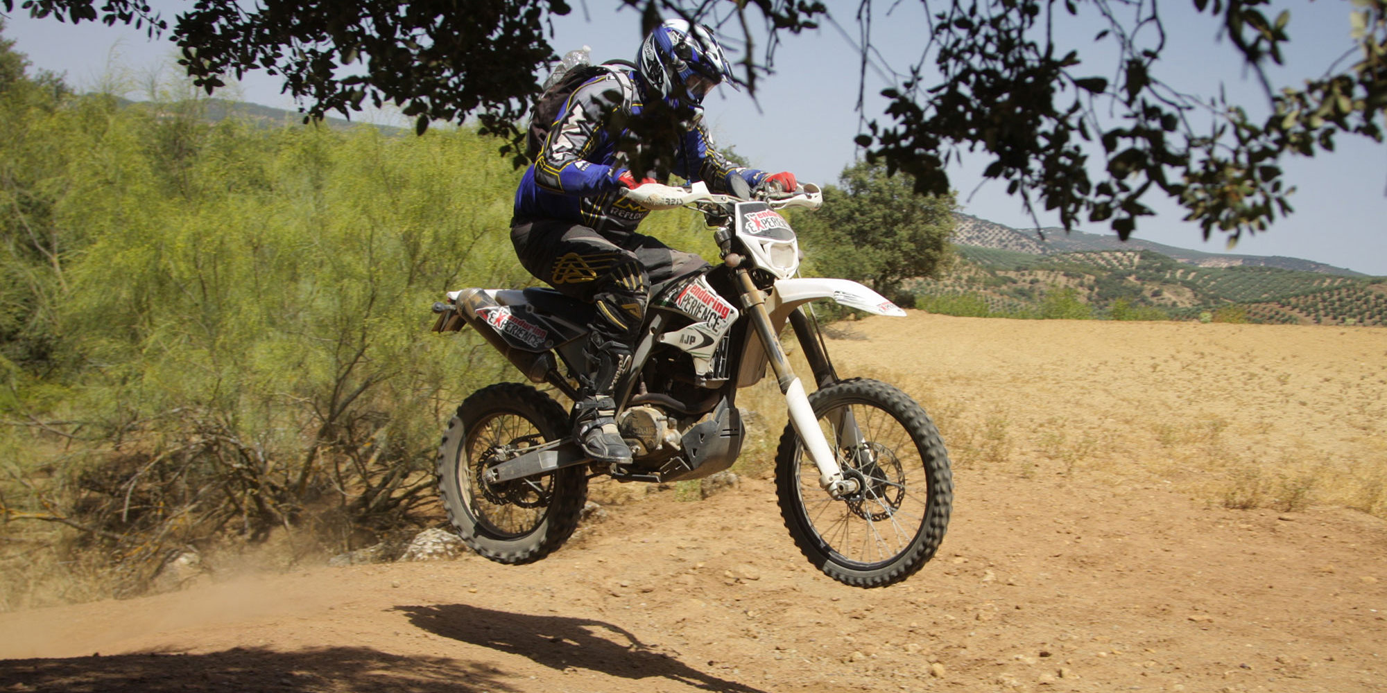 off-road trail riding Motorcycle day tours and excursions near Torremolinos, Benalmadina and Malaga
