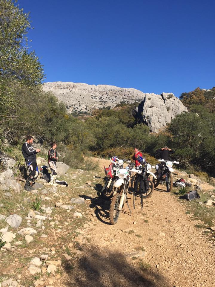 Enduro Motorcycle tours in Archidona. Motocross tours, Enduro motorcycle tours in Spain.
