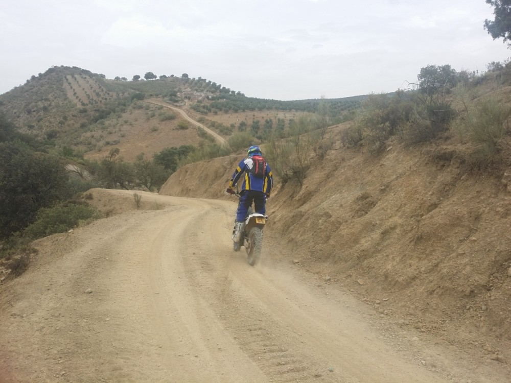 El Torcal off-road trail riding motorcycle tours