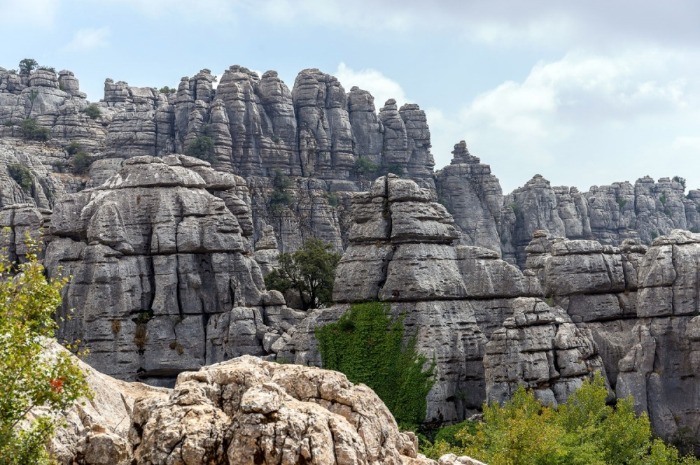 El Torcal just over half hour away