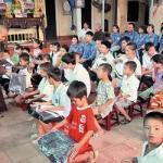 Lớp học tình thương ở chùa Hương Lan