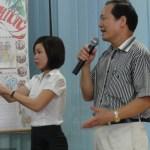 Trái mơ xanh thăm và tặng quà trung tâm nuôi dưỡng trẻ khuyết tật Hà Nội