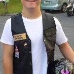 Đội xe mô tô khủng hộ tống cậu bé mắc hội chứng down ngày đầu tới trường