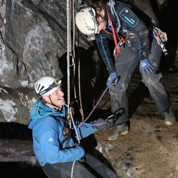 Vertical Cave and/or Mine Leader inc. Tyrolean Training. 28-30 October 2020