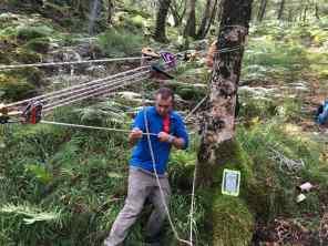 Tensioning 2 ropes