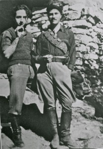 George Doundoulakis with Patrick Leigh Fermor, 1942