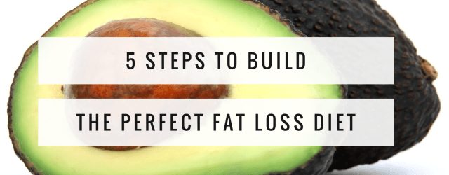 5 steps to build the perfect fat loss diet