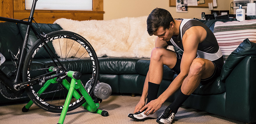 Indoor Cycling Gear is a must for completing a winter cycling training plan.