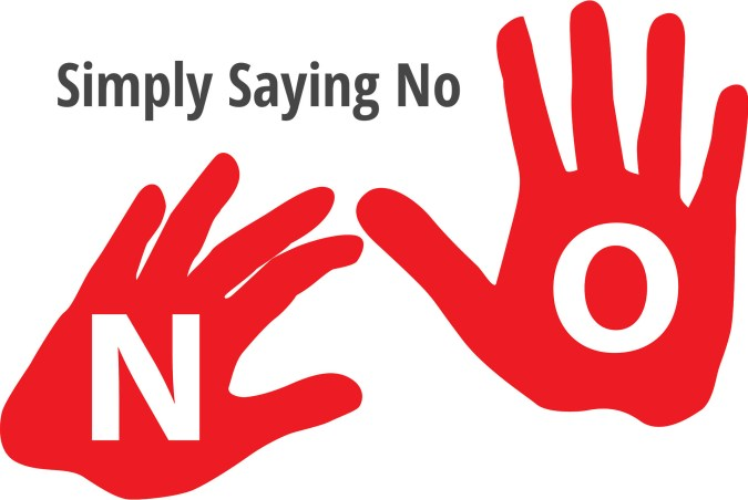 Simply Saying No