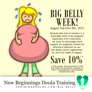 Big Belly Week infographic
