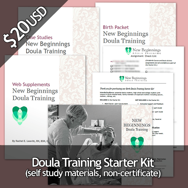 Birth Doula Training Starter Kit