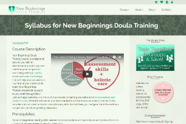 Labor Support and Doula Education