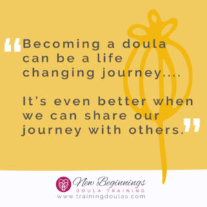 becoming a doula