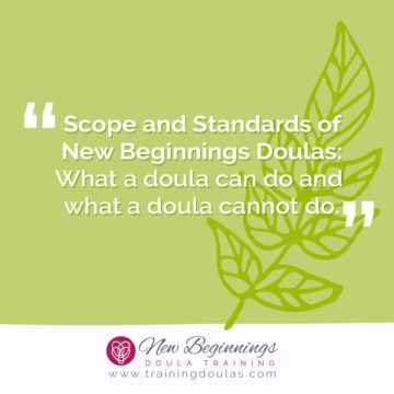 Doula Scope and Standards of Practice