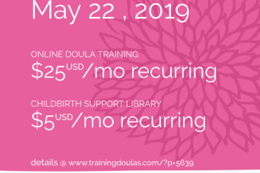Simplified Pricing for Doula Training and Childbirth Support Library