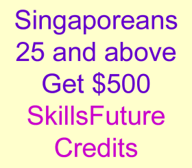 SkillsFuture Credits for Singaporeans