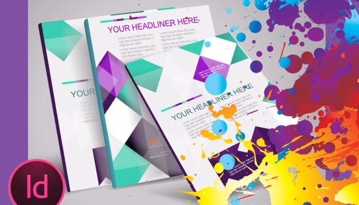 InDesign, Lay-out, brochure, trifold, book, magazine, multiple pages
