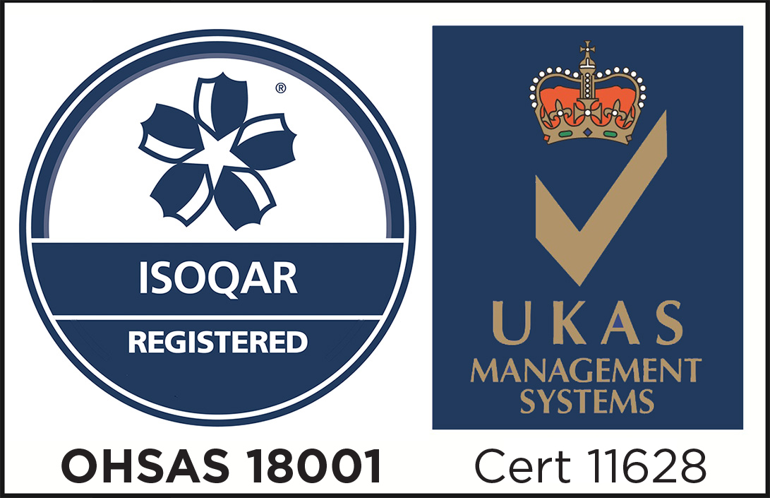 OHSAS 18001 Health and Safety Accredited