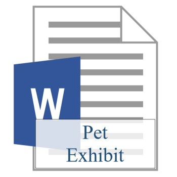 Pet Exhibit - Resident Sign Up - Training Property Managers LLC